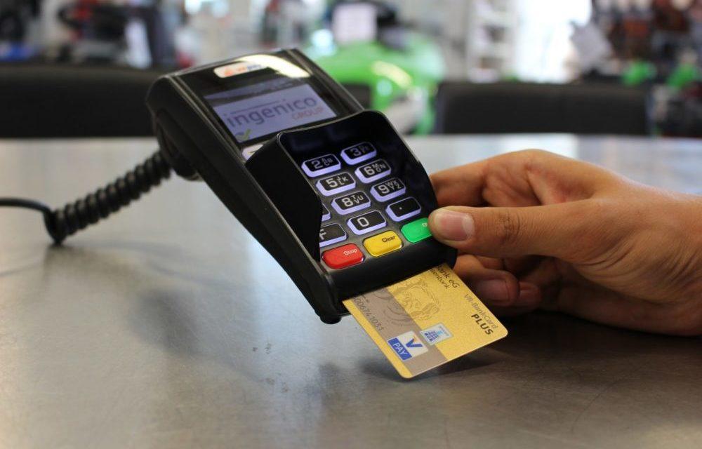 Paiement par carte bancaire TPE